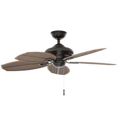 Popular Outdoor Ceiling Fan No Electricity In Outdoor – Ceiling Fans Without Lights – Ceiling Fans – The Home Depot (View 13 of 15)