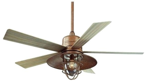 Popular Rustic Looking Ceiling Fans Amusing Farmhouse Style Ceiling Fans In Rustic Outdoor Ceiling Fans (View 12 of 15)