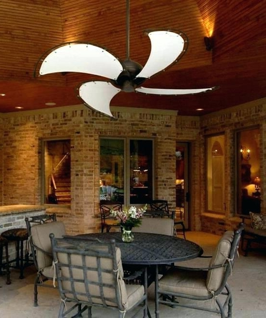 Porch Ceiling Fans Damp Rated Ceiling Fans Damp Rated Ceiling Fans With Regard To Most Current Outdoor Patio Ceiling Fans With Lights (View 4 of 15)