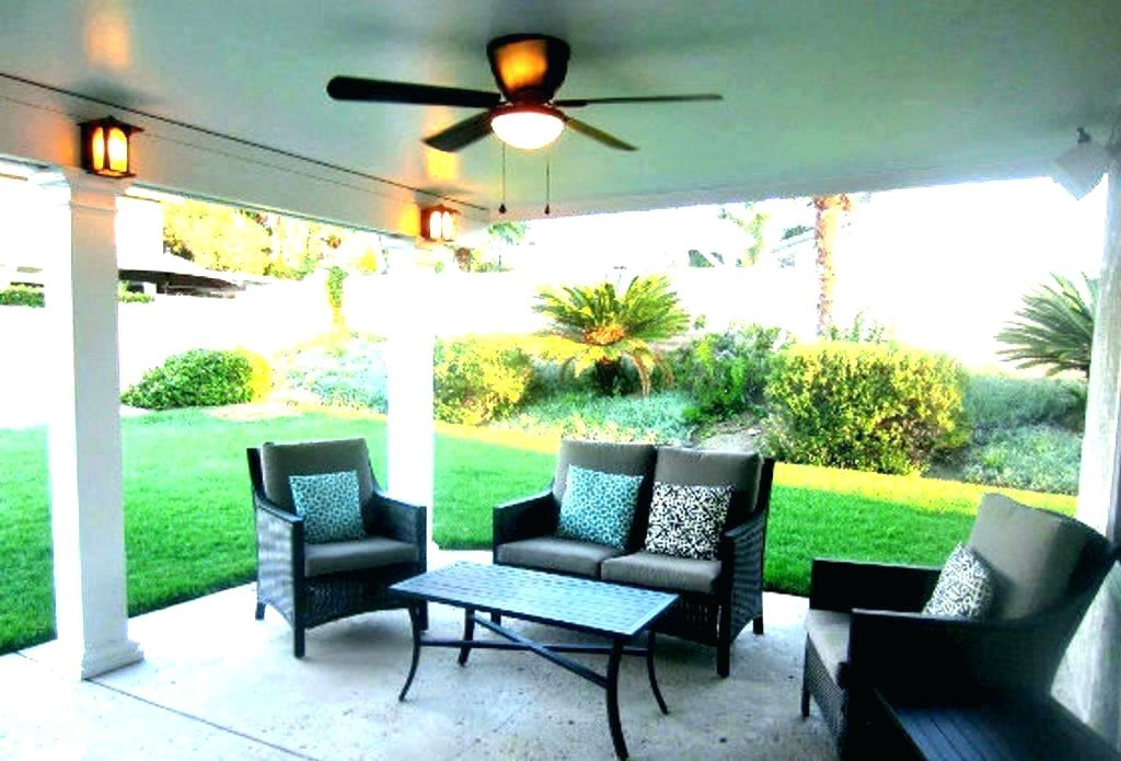 Porch Ceiling Fans Outdoor Porch Fans Lovable Outdoor Ceiling Fan Inside Most Up To Date Outdoor Porch Ceiling Fans With Lights (View 12 of 15)