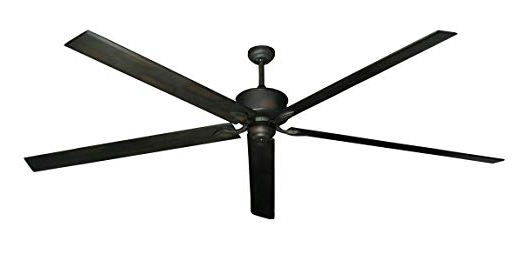 Preferred 72 Inch Outdoor Ceiling Fans Inside Hercules 96 Inch Dc Ceiling Fan With Remote (oil Rubbed Bronze (View 3 of 15)