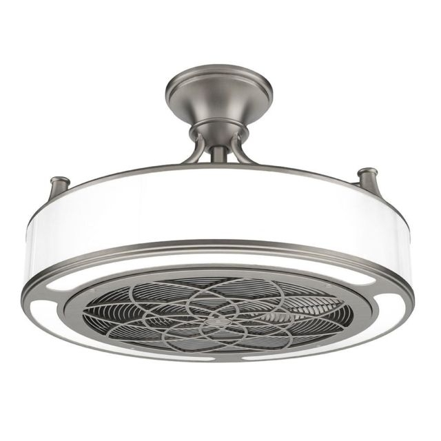 Preferred Brushed Nickel Outdoor Ceiling Fans With Light Intended For Anderson Cf0110 22 In (View 15 of 15)