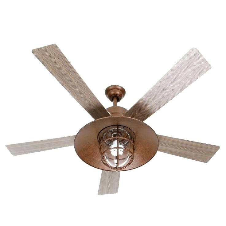 Preferred Copper Outdoor Ceiling Fans Throughout Copper Ceiling Fan Outdoor Ceiling Fans With Remote Beautiful Fan (View 13 of 15)