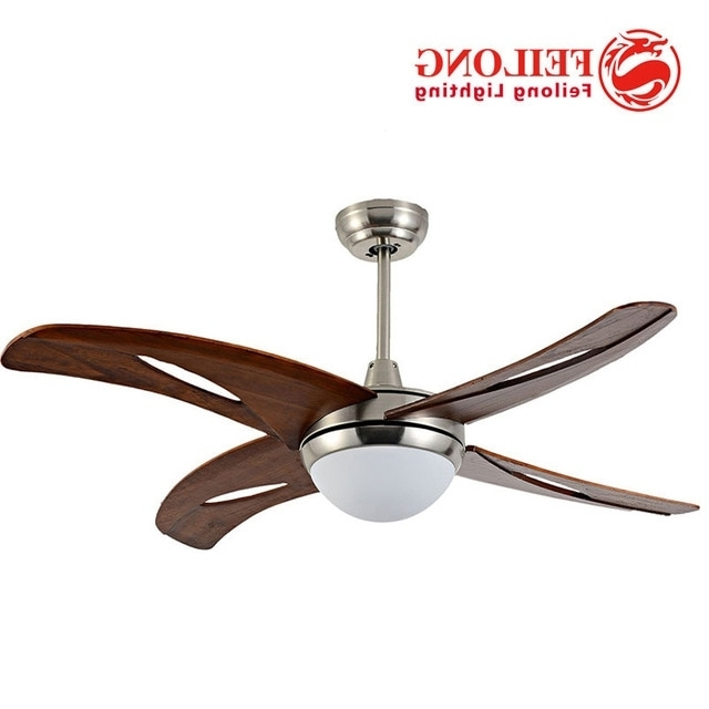 Preferred Four Blades Single Light Hunter Fans 42 Inch Indoor Ceiling Fan Lamp Pertaining To 42 Outdoor Ceiling Fans With Light Kit (View 13 of 15)