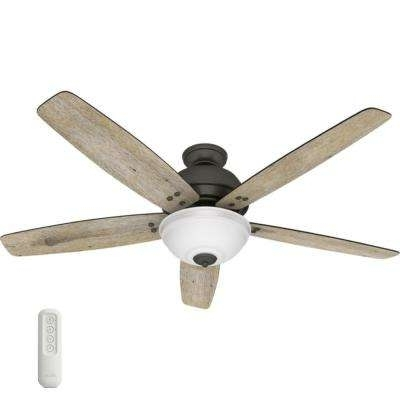 Preferred Hunter – Remote Control Included – Ceiling Fans – Lighting – The Throughout Hunter Outdoor Ceiling Fans With Lights And Remote (View 13 of 15)
