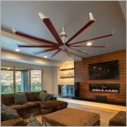 Preferred Outdoor Ceiling Fans For Barns In Gyro Wet Indoor Outdoor Ceiling Fan With Remote – Giffun (View 11 of 15)