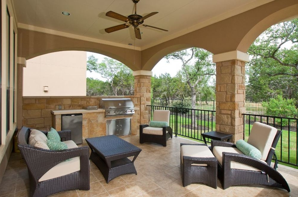 Featured Photo of Outdoor Ceiling Fans For Patios