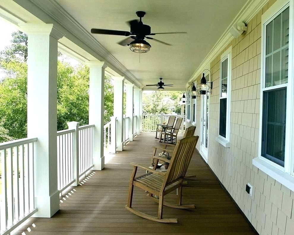 Preferred Outdoor Porch Ceiling Fans Impressive On Patio Ideas With Lights Within Outdoor Porch Ceiling Fans With Lights (View 14 of 15)