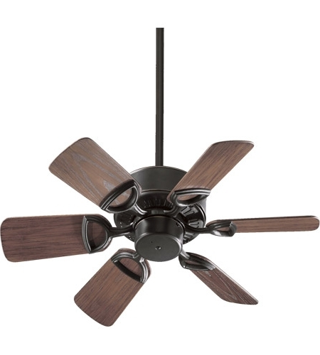 Quorum 143306 95 Estate Patio 30 Inch Old World With Walnut Blades With Preferred Quorum Outdoor Ceiling Fans (View 6 of 15)