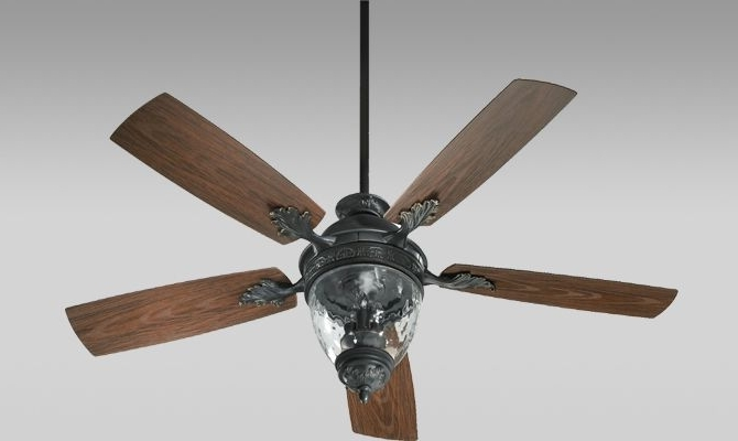 Quorum International 174525 With Regard To Latest Outdoor Windmill Ceiling Fans With Light (Gallery 5 of 15)