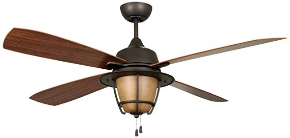Recent Ellington Outdoor Ceiling Fans With Regard To Litex E Mr56Esp4C1 Morrow Bay 56 Inch Ceiling Fan, Espresso (View 13 of 15)