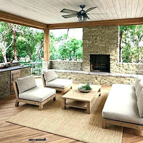 Recent Outdoor Ceiling Fans For Decks In Outdoor Porch Ceiling Fans With Lights Outdoor Deck Fan Outdoor (View 13 of 15)