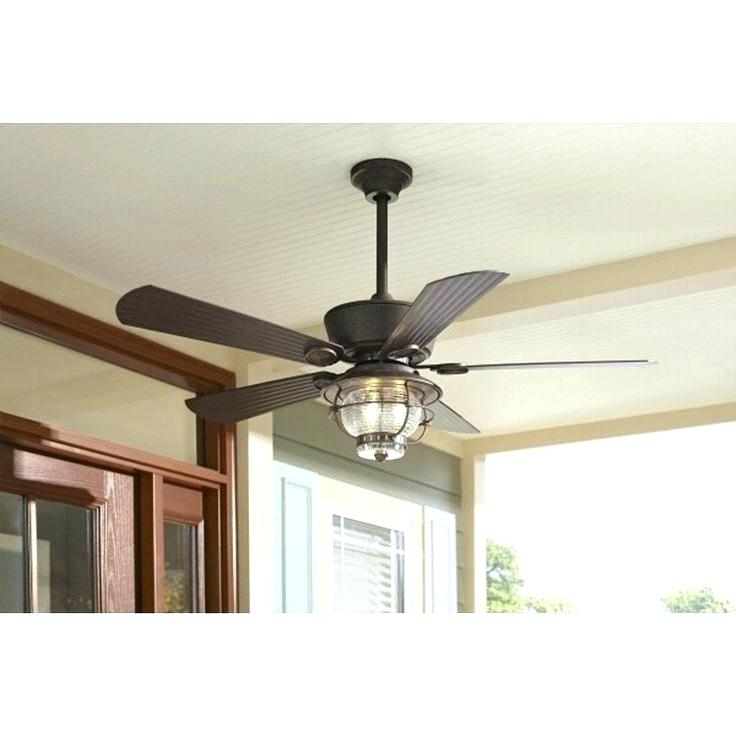 Rustic Ceiling Fans Flush Mount Flush Mount Outdoor Ceiling Fan Pertaining To Best And Newest Flush Mount Outdoor Ceiling Fans (View 11 of 15)