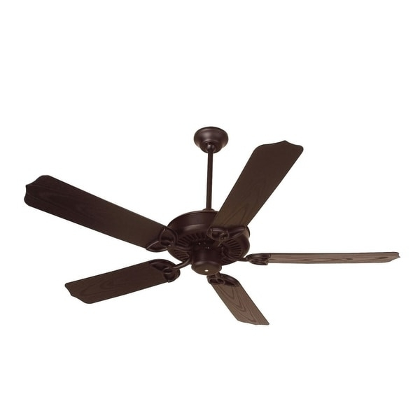 "Shop Craftmade K10369 Indoor / Outdoor Patio Fan 52"" 5 Blade Indoor For Trendy Craftmade Outdoor Ceiling Fans Craftmade (View 14 of 15)"