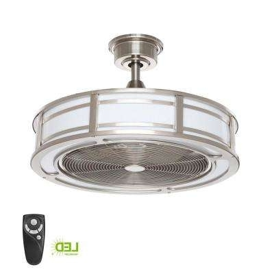 Small Room – Ceiling Fans – Lighting – The Home Depot Throughout Best And Newest Mini Outdoor Ceiling Fans With Lights (View 12 of 15)