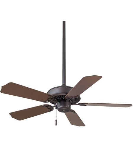 Sundance 42 Inch Oil Rubbed Bronze With Dark Oak Blades Outdoor Intended For 2018 42 Inch Outdoor Ceiling Fans (View 6 of 15)