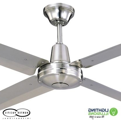 "Sunshine Coast Outdoor Ceiling Fans Within Preferred 48"" – 1220mm Typhoon Mach 2 316 Marine Grade Stainless Steel Ceiling (View 4 of 15)"