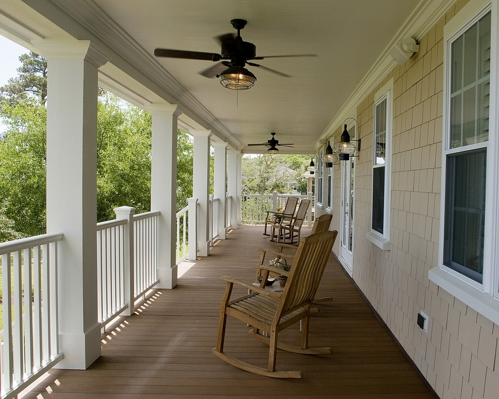 The Difference Between Indoor Outdoor Ceiling Fans Del Mar Religions Intended For Current Outdoor Ceiling Fans For Decks (View 14 of 15)