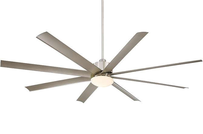 Top 10 Big Ceiling Fans At Lumens Throughout Well Known 20 Inch Outdoor Ceiling Fans With Light (View 14 of 15)