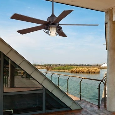 Trendy Damp Rated Outdoor Ceiling Fans Throughout Wet Rated (Ul Listing), Weatherproof & Waterproof Outdoor Ceiling (View 11 of 15)