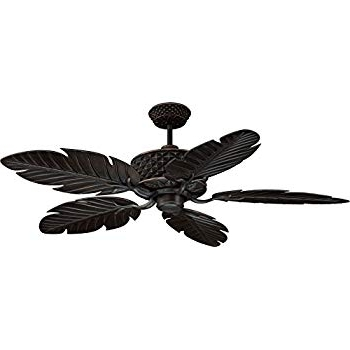 "Trendy Ellington Pap52Abz5Rcdi, Pineapple, Ceiling Fan, 52"" Span, Aged Throughout Ellington Outdoor Ceiling Fans (View 15 of 15)"