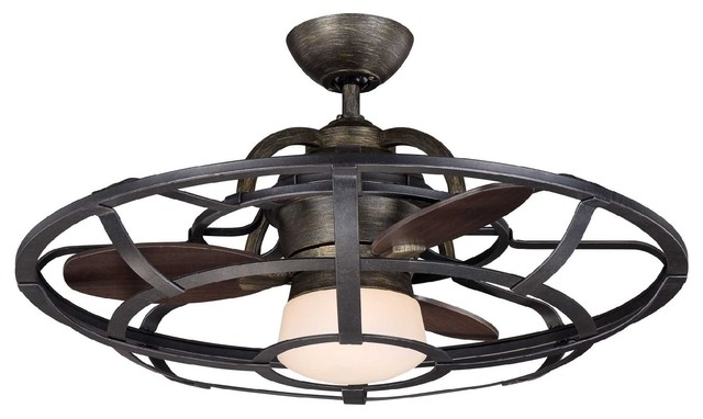 Trendy Enclosed Outdoor Ceiling Fans Pertaining To Bring Back Comfort Into Your Home – 15 Wonderful Enclosed Ceiling (View 3 of 15)