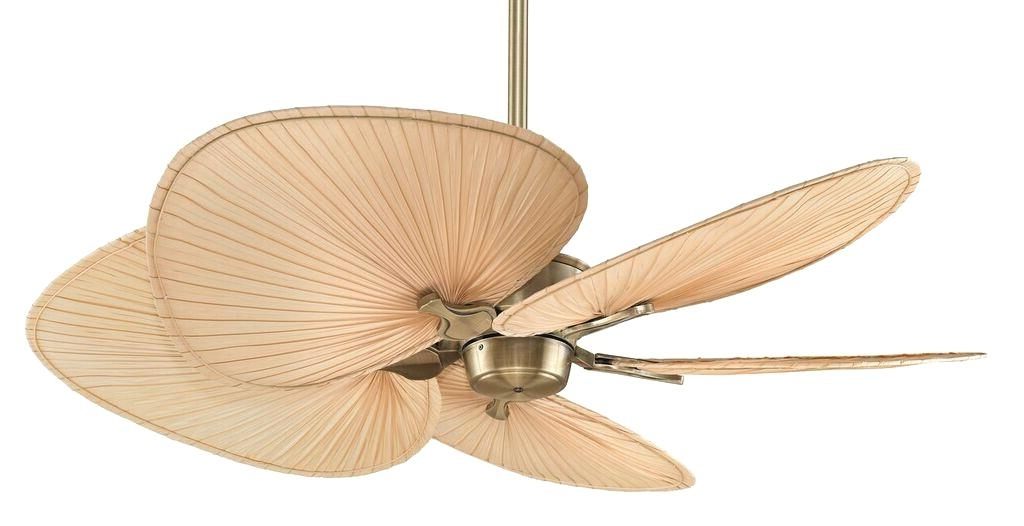Trendy Outdoor Ceiling Fan Blades Tropical Outdoor Ceiling Fan Rattan Fans Within Wicker Outdoor Ceiling Fans (View 10 of 15)