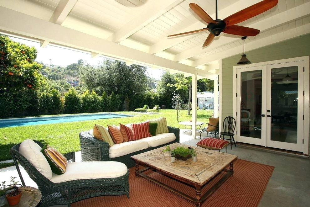 Trendy Outdoor Ceiling Fans For Patios For Wet Rated Outdoor Ceiling Fan Waterproof Fans A Damp Reviews (View 14 of 15)