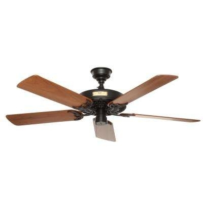Trendy Rustic Outdoor Ceiling Fans In Hunter – Rustic – Outdoor – Ceiling Fans Without Lights – Ceiling (View 11 of 15)