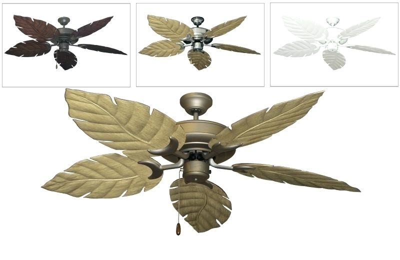 Tropical Outdoor Ceiling Fans Tropical Outdoor Ceiling Fans Photo 9 Throughout Well Liked Tropical Design Outdoor Ceiling Fans (View 15 of 15)