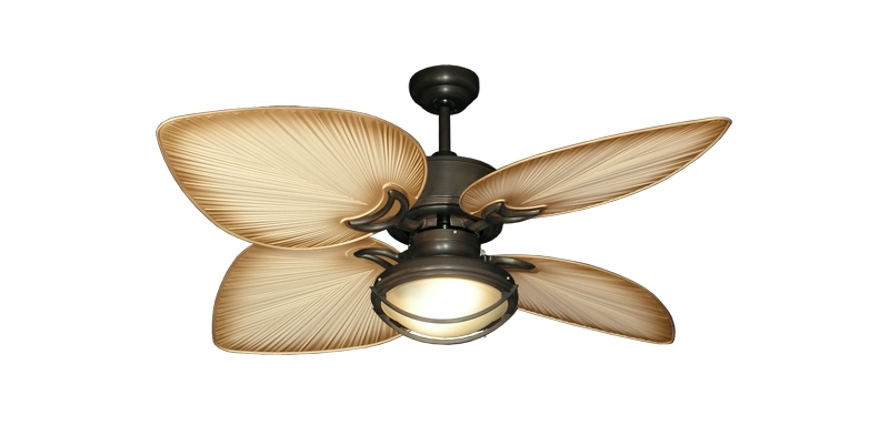 Tropical Outdoor Ceiling Fans With Lights Tropical Outdoor Ceiling For Current Tropical Outdoor Ceiling Fans With Lights (View 12 of 15)