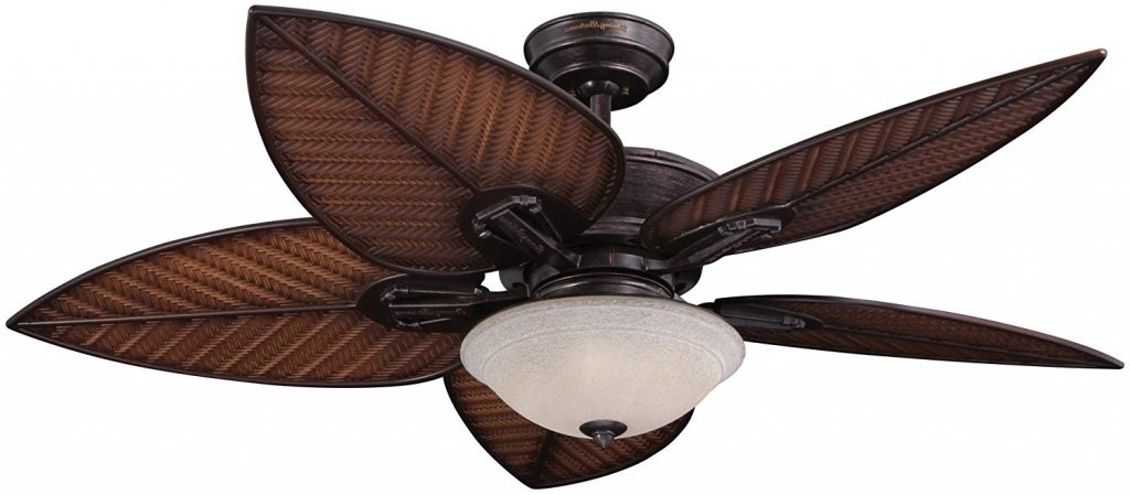 Tropical Outdoor Ceiling Fans With Regard To Well Known Minka Aire Gauguin Tropical Blad Tropical Outdoor Ceiling Fans With (View 5 of 15)
