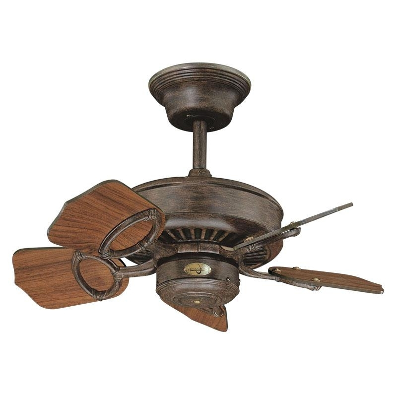 Featured Photo of Vintage Look Outdoor Ceiling Fans