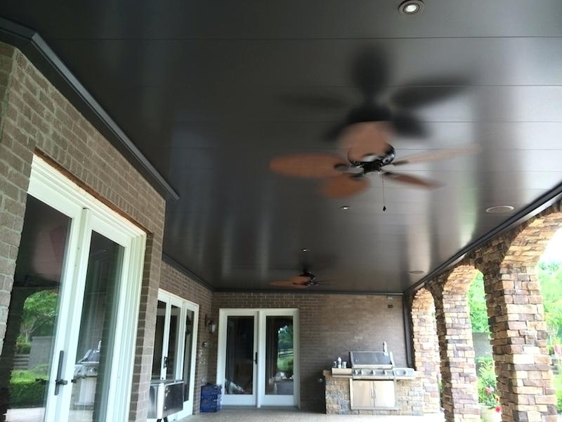Under Deck Ceiling Outdoor Fan Best Systems Home Depot Pertaining To Well Liked Outdoor Ceiling Fan Under Deck (View 15 of 15)