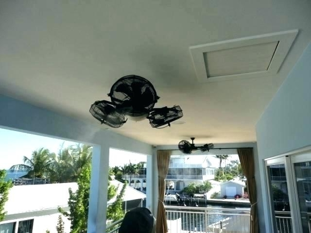 Unique Outdoor Ceiling Fans With Lights Regarding Well Known Outdoor Patio Fans With Lights – Taiwan Recipe (Gallery 5 of 15)