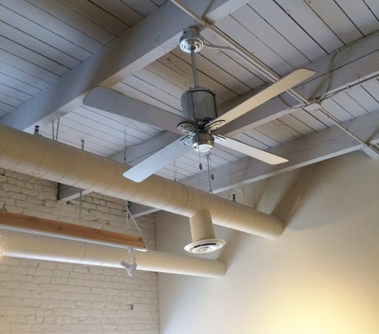 Vintage Ceiling Fans Cool Office Space With Style (View 11 of 15)
