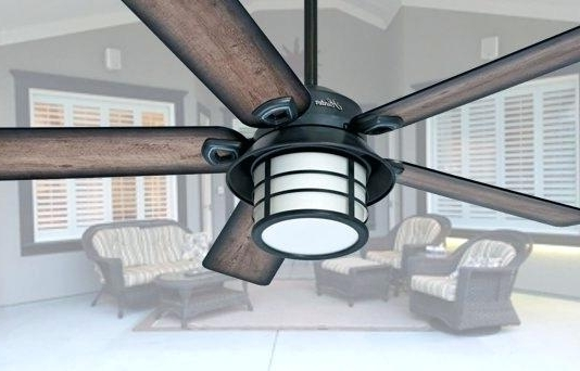 Waterproof Outdoor Ceiling Fans Within Most Current Outdoor Ceiling Fans Waterproof Archive With Tag Waterproof Outdoor (View 14 of 15)