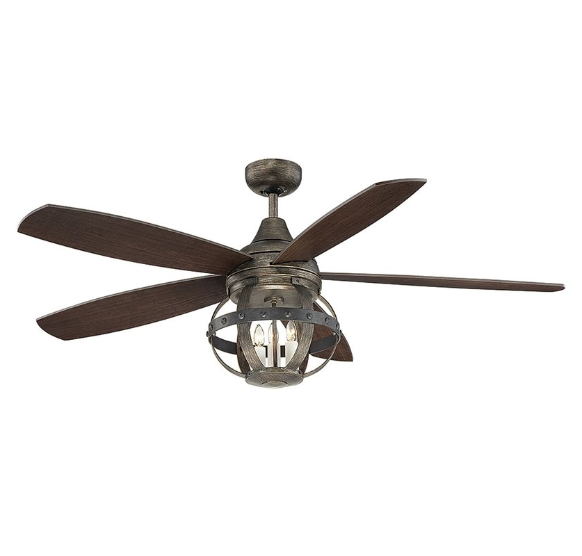 Wayfair Outdoor Ceiling Fans Intended For Current Ceiling Fans You'll Love (View 1 of 15)