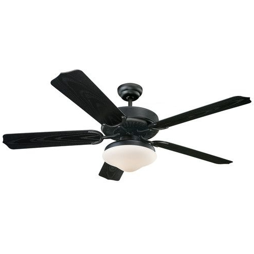 "Wayfair Outdoor Ceiling Fans Regarding Preferred Found It At Wayfair – 52"" Dayton 5 Blade Indoor/outdoor Ceiling Fan (View 13 of 15)"