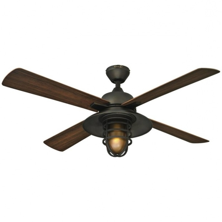 Wayfair Outdoor Ceiling Fans With Lights With Most Popular Outdoor Ceiling Fans You'll Love (View 12 of 15)