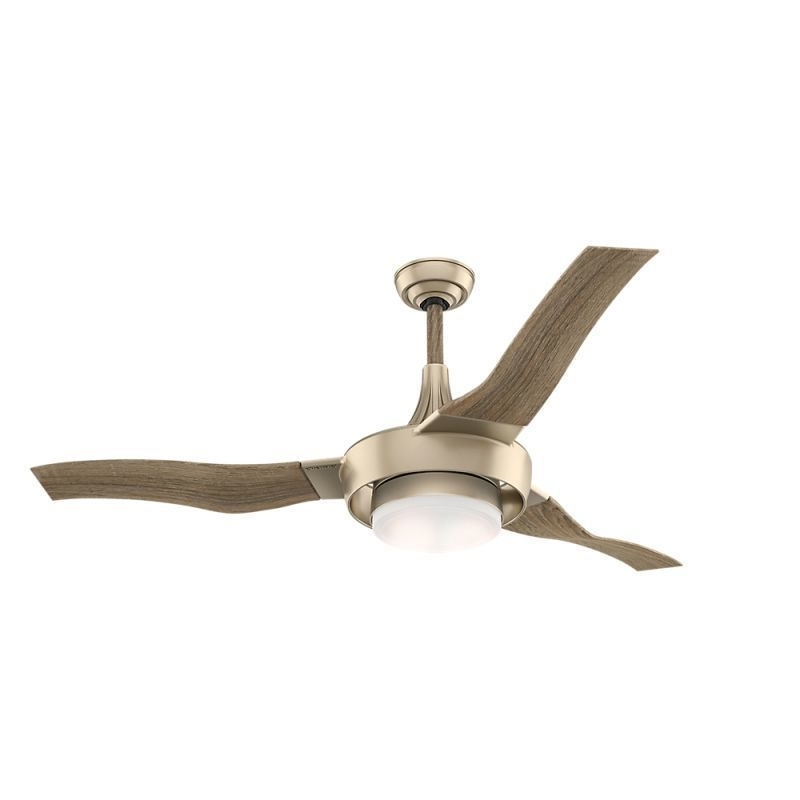 "Well Known Casablanca Outdoor Ceiling Fans With Lights Intended For Casablanca 59168 Perseus Metallic Sunsand Energy Star 64"" Outdoor (View 15 of 15)"