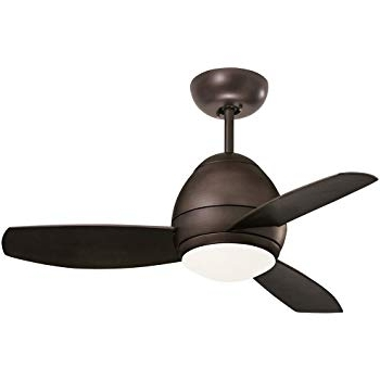 Well Known Emerson Ceiling Fans Cf244Orb, Curva, Modern Indoor Outdoor Ceiling Intended For Outdoor Ceiling Fans With Removable Blades (View 15 of 15)