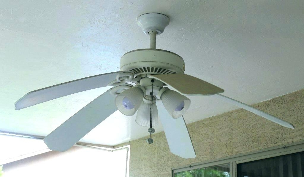 Well Known Enclosed Outdoor Ceiling Fans Within Enclosed Blade Ceiling Fan Ceiling Fan Blades Stylish Enclosed (View 15 of 15)