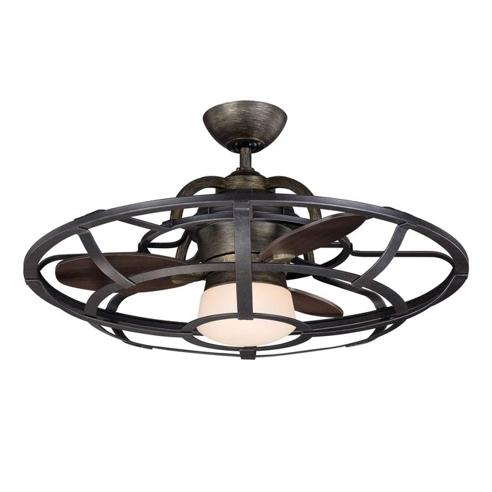 "Well Known Laurel Foundry Modern Farmhouse 26"" Wilburton 3 Blade Outdoor Throughout Outdoor Ceiling Fans Under $ (View 11 of 15)"