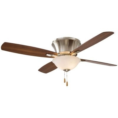 "Well Known Minka Aire 52"" Mojo Ii Flushmount 4 Blade Ceiling Fan & Reviews With Regard To Wayfair Outdoor Ceiling Fans With Lights (View 14 of 15)"