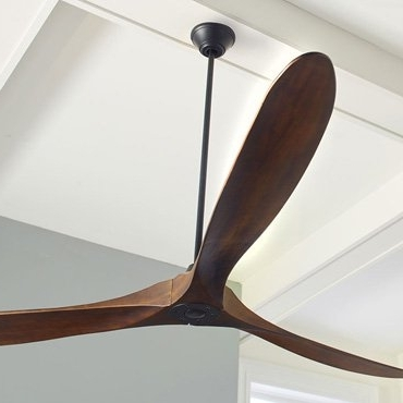 Well Known Outdoor & Patio Ceiling Fans: Ul Rated For Wet Exterior & Damp Rooms Throughout High Volume Outdoor Ceiling Fans (View 13 of 15)