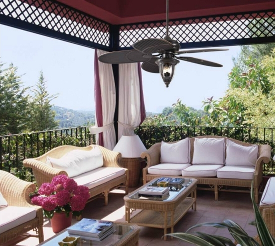 Well Known Selecting The Right Outdoor Ceiling Fan (View 10 of 15)