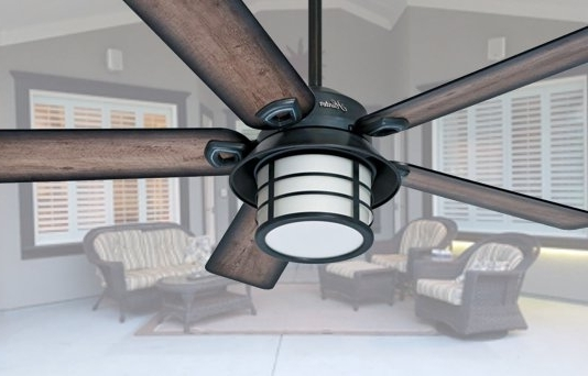 Well Known The Most Elegant Outdoor Ceiling Fans With Light Pertaining To Inside Elegant Outdoor Ceiling Fans (View 15 of 15)