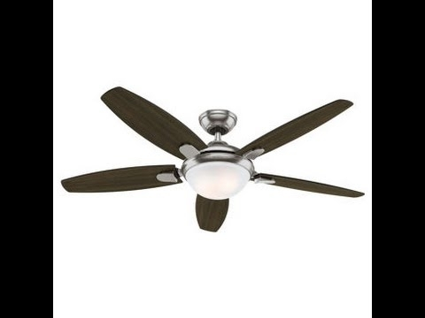 Well Liked Costco Hunter 54 Inch Contempo Ceiling Fan Review Item #729655 Pertaining To Outdoor Ceiling Fans At Costco (View 13 of 15)