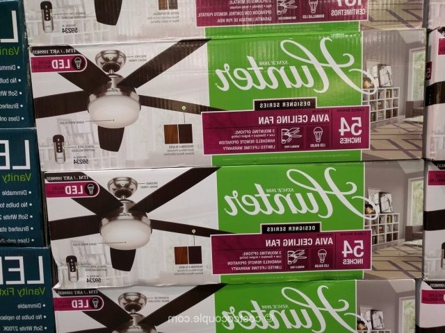 Well Liked Hunter Avia Ceiling Fan For Outdoor Ceiling Fans At Costco (View 14 of 15)